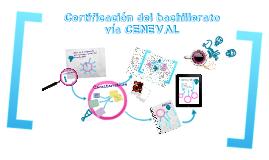 Certificación del bachillerato vía CENEVAL