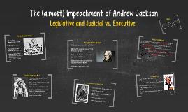 the impeachment of andrew jackson