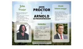 John Proctor and Arnold Schwarzenegger