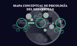 MAPA CONCEPTUAL DE PSICOLOGÍA DEL DESARROLLO