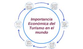 Importancia Economica del Turismo en el mundo