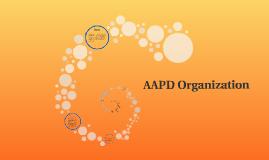 AAPD ORGANIZATION