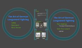German Longsword