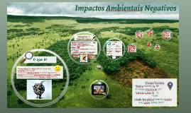 Impactos Ambientais Negativos