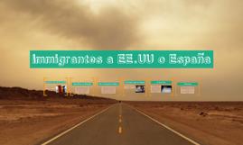 immigrantes a EE.UU. compara con España