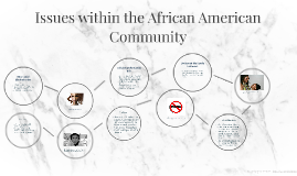 Issues within the African American Community