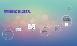MAGNITUDES ELECTRICAS.