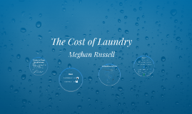The cost of laundry