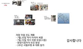 2014 여름방학 작업 진행 현황