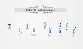 4C colony to confederation