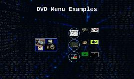 DVD Menu Examples