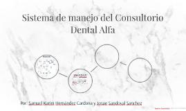 Sistema de manejo del Consultorio Dental Alfa