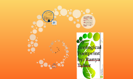 Copy of My Ecological Footprint
