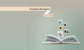 Feminist literature