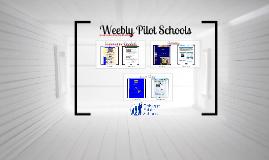 Weebly Pilot  Schools