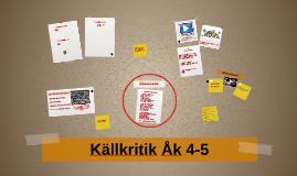 Källkritik ÅK 4-5