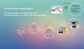 Copy of EL PARADIGMA TECNOLOGICO