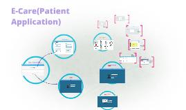 E-Care(Patient Application)