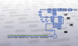 Tendencias Contemporráneas en la Psicología Social