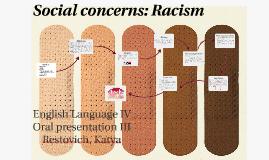 Social concerns: Racism Language IV