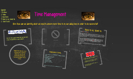 Day #14 - Day 1 of Time Management
