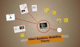 Albert Bandura, modelling theory