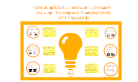Cultivating Effective Instructional Design to Co-plan and Teach