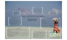 South Africa Decolonization