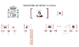 MINISTERIO DE MÚSICA Y DANZA