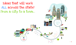 Ideas that will work ALL across the state! From a city to a