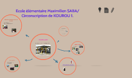 Copy of Ecole élémentaire Maximilien SABA/Circonscription de KOUROU