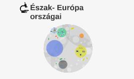 Észak- Európa országai
