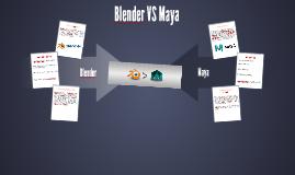 Blender VS Maya