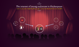 The interest of young audiences in Shakespeare
