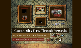 Constructing Force Through Research: