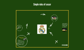 Symple rules of soccer.BY:ALEJANDRO
