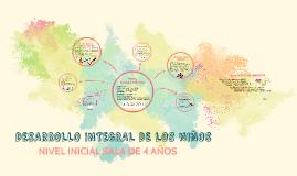 DESARROLLO INTEGRAL DE LOS NIÑOS