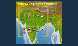 Maurya and Gupta Empires