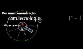 TEO COMUNICA 08 - Hipertextos