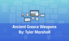 Ancient Greece Weapons