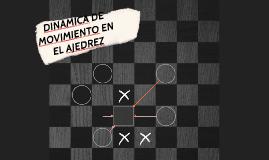 DINAMICA DE MOVIMIENTO EN EL AJEDREZ