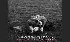 El amor es un campo de batalla