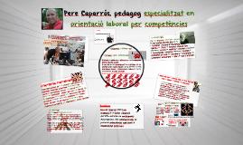 Pere Caparrós, pedagog especialitzat en orientació laboral p
