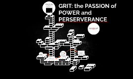 GRIT: the Power of P and perserverance