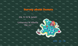 Survey about Donuts