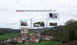 PRIMERA NEVADA EN ALDATZ NOV_13