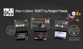 MUSIC & CULTURE : BEAUTY