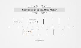 Construcción de una Obra Menor