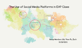 The use of social media platforms in EAP class