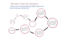 Copy of The Giver: Colors and Emotions
